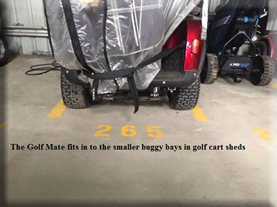 The MiCaddy GM2 golf cart is fully featured